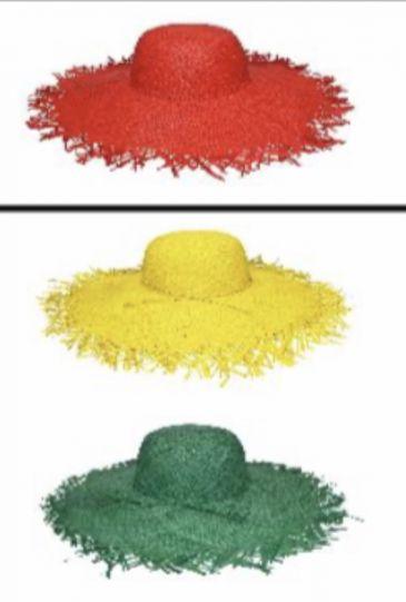 Сламена шапка хавай