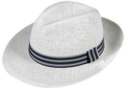 мъжка шапка голяма периферия с панделка райе