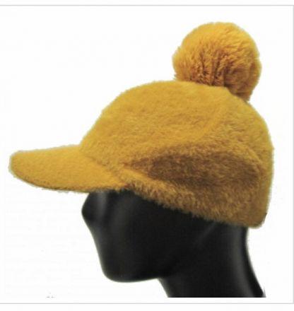 Бейзболна шапка с пухче