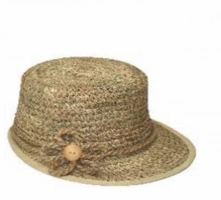 Дамска шапка от морска трева