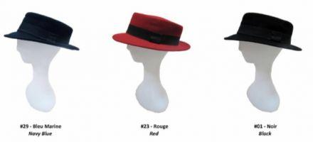 Филцова шапка синя