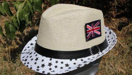 детско бомбе Английско знаме бяло и черно