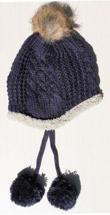 шапка Мече тъмно синьо